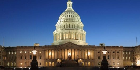 Capitol Buildin in Washinton DC